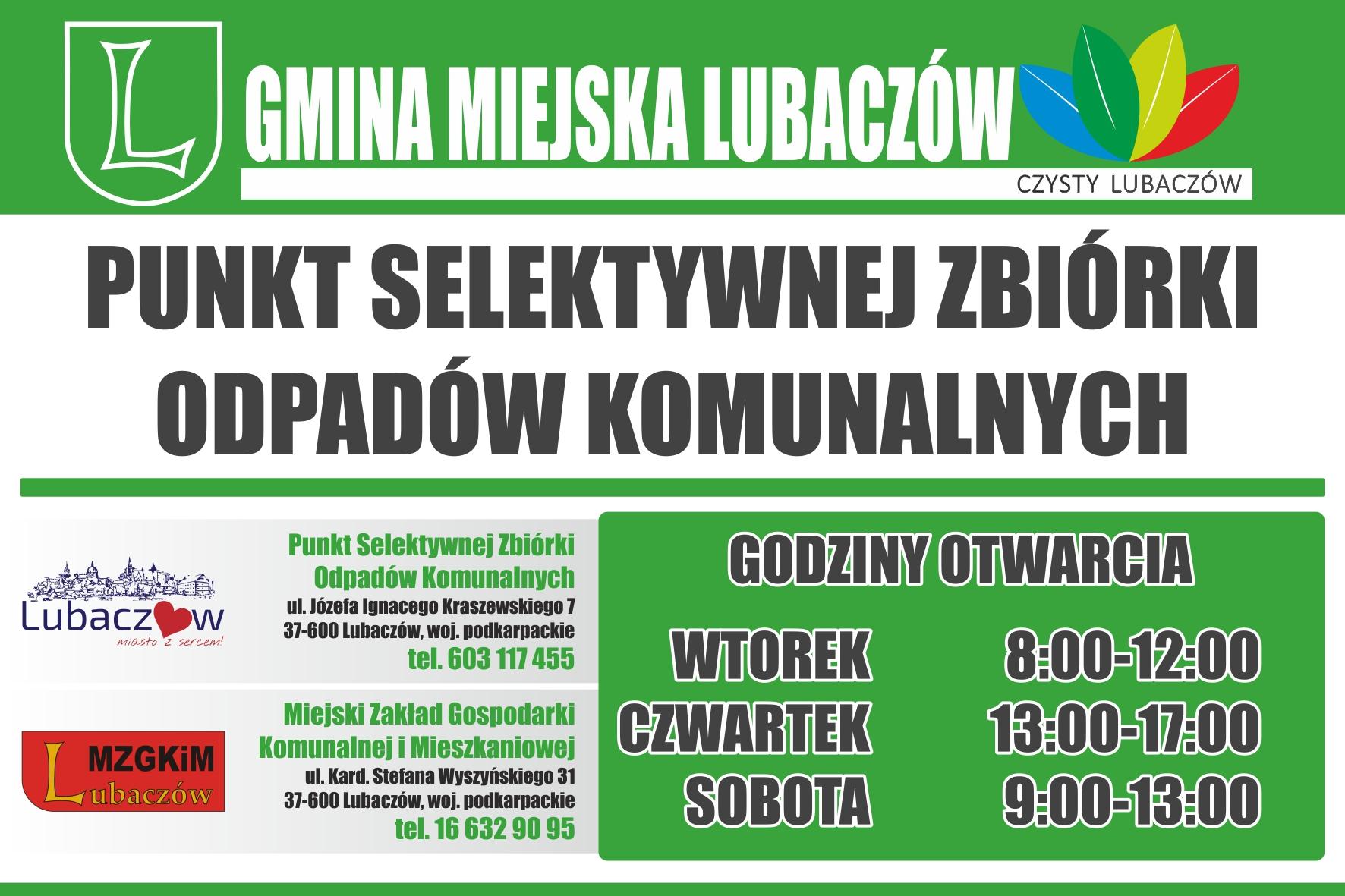 PSZOK - Punkt Selektywnej Zbiórki Odpadów Komunalnych